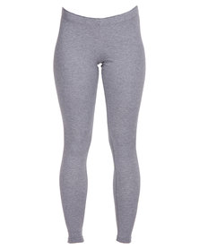 Nike Leg-A-See-Logo Leggings Grey