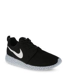 Nike Rosherun Print Sneakers Black