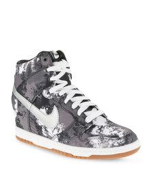 Nike Dunk Sky Hi Print Sneakers Black