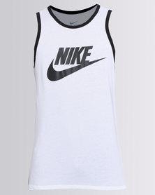 Nike NSW Ace Logo Tank White