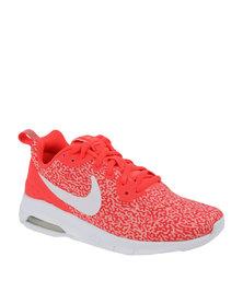 Nike Womens Air Max Motion LW Print Bright Crimson