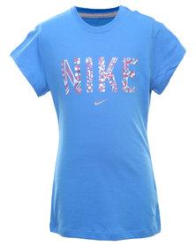 Nike Tribe SS Tee Blue
