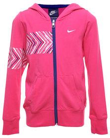 Nike Jersey FZ Hoody Pink
