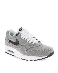 Nike Air Max 1  Premium Men's Shoes White and Black