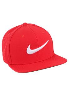 Nike U NK Cap Pro Swoosh Classic Red