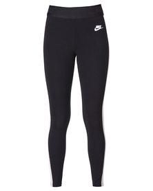 Nike Tech Fleece Leggings Black/White