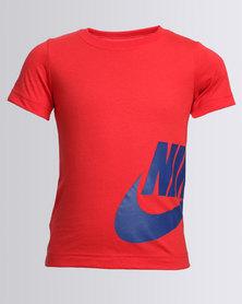 Nike Side Futura Short Sleeve Tee Red