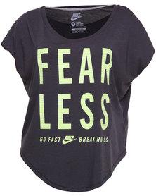 Nike Fearless Tee Grey