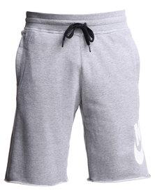 Nike AW77 Alumni Shorts Grey
