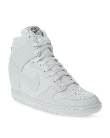 Nike Dunk Sky Hi Sneakers White