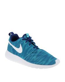 Nike Roshe One Print Sneaker Blue