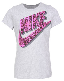 Nike Run Heritage Tee White