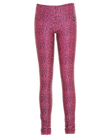 Nike Girls Aop Tights Pink