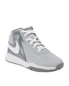Nike Team Hustle D7 Sneakers Grey