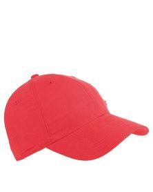 Nike Heritage 86 Metal Swoosh Cap Red