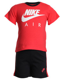 Nike Infants Warm Up Set Red