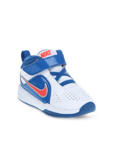 Nike Team Hustle D 6 BP Sneakers White