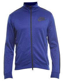 Nike Tribute Track Jacket Royal Blue