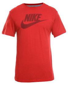 Nike Futura Center Standard Tee Red