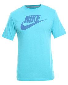 Nike Futura Center Standard Tee Blue