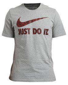 Nike Tee-Ultra Just Do It Grey