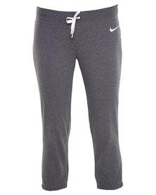 Nike Jersey Capri Pants Grey