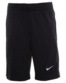 Nike N45 J Swoosh Shorts YTH Black