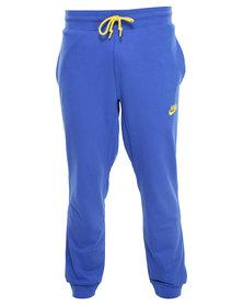 NIKE AW77 Cuff Pant Blue