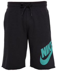 Nike AW77 FT Alumni Short Black
