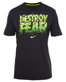 Nike DFCT Destroy The Fear Tee Black