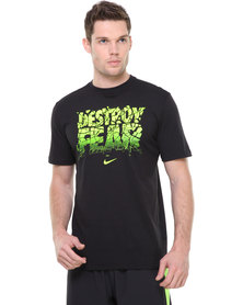 Nike DFCT Destroy The Fear Tee Black