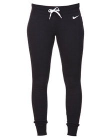 Nike Club Pants Tight Black and White
