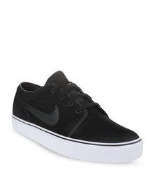 Nike Toki Low Leather Sneaker Black