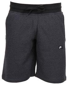 Nike AW77 Alumni Shorts Charcoal