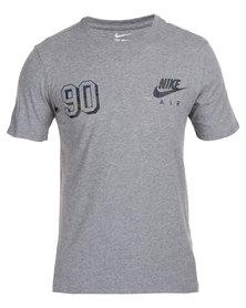 Nike Power Grid Footwear Tee Grey
