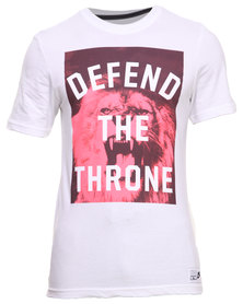 Nike Lebron Defend The Throne Tee White
