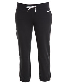 Nike Jersey Capri Pants Black