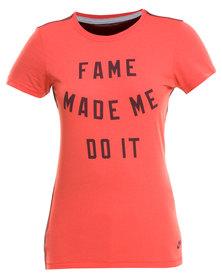 Nike Fame Tee Red