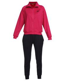 Nike Polyknit Tracksuit Pink