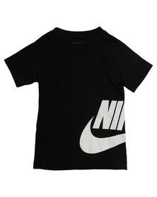 Nike Side Futura SS Tee Black