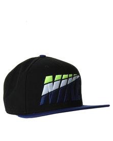 Nike Pro Graphic Cap Black