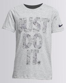 Nike JDI Topo YTH Tee Grey