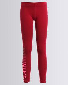 Nike Swoosh Tight Leg-A-See Red