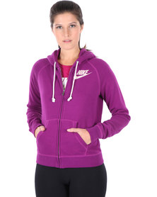 Nike Rally FZ Hoody Purple