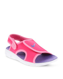 Nike Sunray Adjust 4 GS/PS Sandals Pink