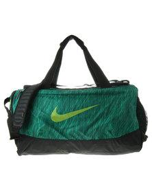 Nike Performance Team Training Max Air Graphic Medium Duffel Bag Green
