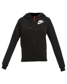 Nike Performance Rally Full-zip Hoodie Black