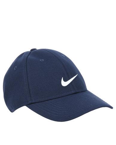 Nike Hats Navy Blue