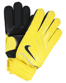 Nike Classic Goalkeeper Gloves Yellow
