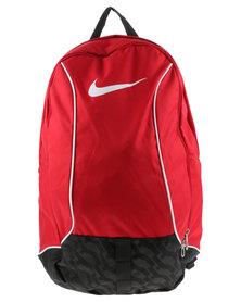 Nike Performance Brasilia 6 Medium Backpack Red